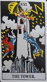 生命の樹 セフィロトの樹 treeoflife treeofsmile ライダー版タロット ウエイト版タロット 塔